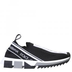 Dolce & Gabbana Black Sorrento Sneakers Size 40