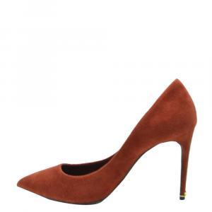 Dolce & Gabbana Brown Suede Pumps Size EU 37.5
