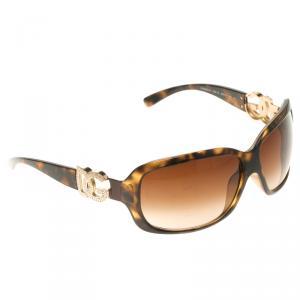 Dolce And Gabbana Brown DG6029-B Oversize Sunglasses