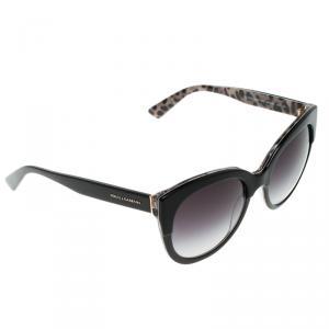 Dolce and Gabbana Purple Grey Gradient DG4259 Cat Eye Sunglasses