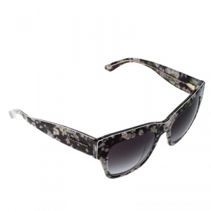 Dolce and Gabbana Floral/Black Gradient DG4231 Wayfarer Sunglasses