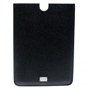Dolce and Gabbana Black Leather iPad Mini Case