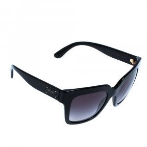 Dolce & Gabbana Black/ Grey Gradient DG 4286 Square Sunglasses