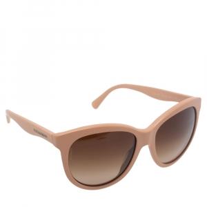 Dolce & Gabbana Salmon Pink/ Brown Gradient DG4149 Oversized Sunglasses
