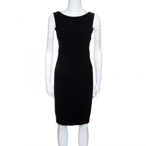Dsquared2 Black Sleeveless Sheath Dress S - used