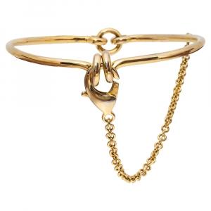 Eddie Borgo Gold Tone Safety Chain Choker