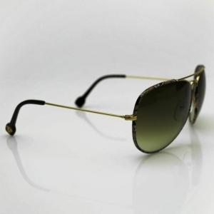Emilio Pucci Gold EP125S Aviator Unisex Sunglasses