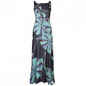 Emilio Pucci Silk Printed Maxi Dress M
