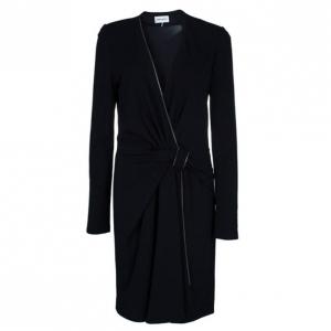 Emillio Pucci Black Knot Detail Dress M