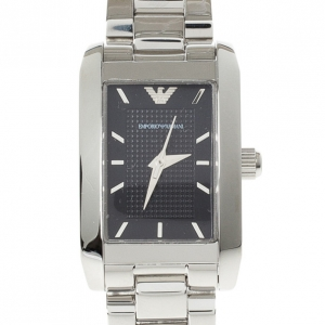 Emporio Armani Black Stainless Steel AR1656 Women's Wristwatch 20MM