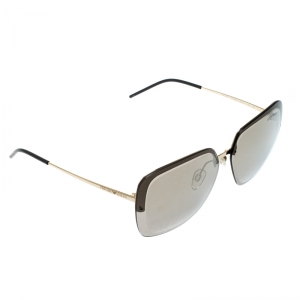 Emporio Armani Gold/Brown EA2045 Wayfarer Sunglasses