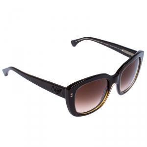 Emporio Armani Brown Gradient EA4031 Square Sunglasses
