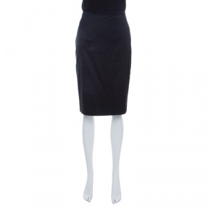 Emporio Armani Black Pencil Skirt M