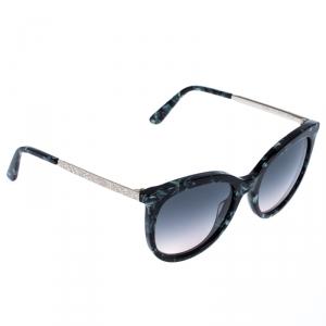 Etro Marble Green Gradient ET656S Cat Eye Sunglasses