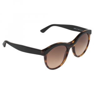 Etro Black/Havana ET652S Cat Eye Sunglasses