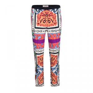 Etro Multicolor Printed Pants S