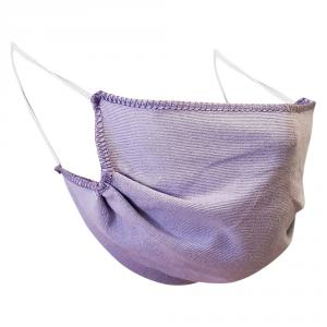 Non-Medical Handmade Purple Cotton Face Mask - Pack of 5