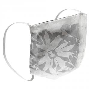 Non-Medical Handmade White Floral Printed Cotton Face Mask - Pack Of 2 (Available for UAE Customers Only)