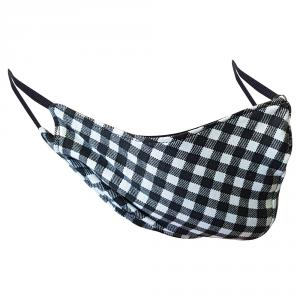 Non-Medical Handmade Checks Cotton Face Mask - Pack Of 10  ( Available for UAE Customers Only)
