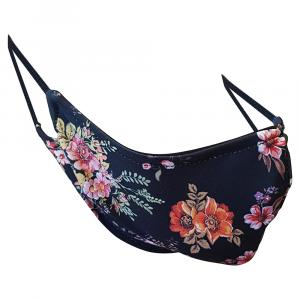 Non-Medical Handmade Floral Print Cotton Face Mask - Pack Of 5 ( Available for UAE Customers Only)