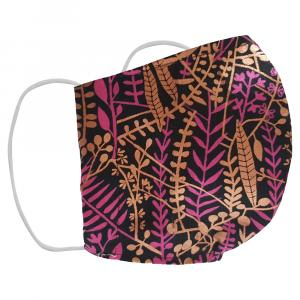 Non-Medical Handmade Multicolor Floral Printed Cotton Face Mask - Pack Of 2 (Available for UAE Customers Only)