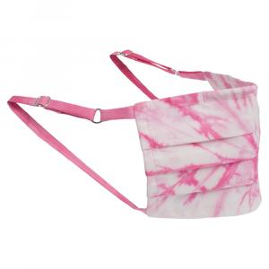 Non-Medical Handmade Pink TieDye Face Mask By Mr. Moudz Collection (Available for UAE Customers Only)