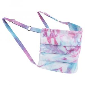 Non-Medical Handmade Pink/Blue Tie Dye Face Mask By Mr. Moudz Collection (Available for UAE Customers Only)