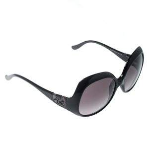 Fendi Black Gradient FS5143 Oversized Sunglasses