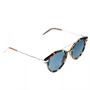 Fendi Havana Brown/ Grey FF 0225/S Round Sunglasses