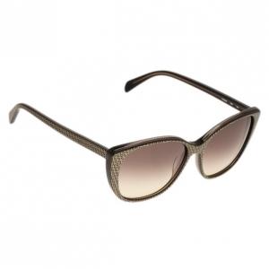 Fendi Grey Zucchino Cat Eye Sunglasses