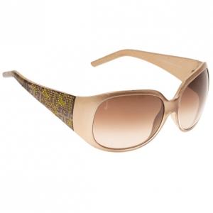 Fendi Brown FS440 Limited Edition Embellished Sunglasses