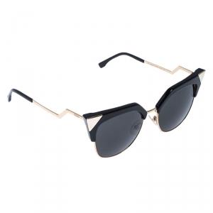 Fendi Gold Tone/Grey FF 0149 Iridia Cat Eye Sunglasses