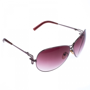 Fendi Pink Gradient FS360R Aviators Sunglasses