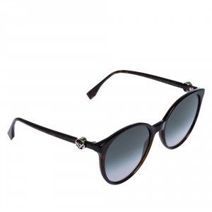 Fendi Tortoise/Grey Gradient FF0288/S Cat Eye Sunglasses