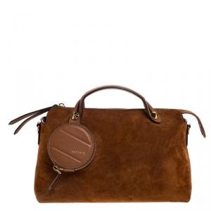 Fendi Tan Leather Medium By The Way Boston Bag