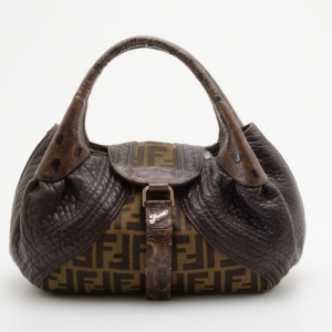 Fendi Zucca Turtle Small Spy Bag
