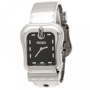 Fendi Black Stainless Steel B.Fendi 3800G Women's Wristwatch 33 mm