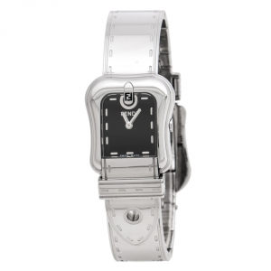 ساعة يد نسائية فندي بي.فندي 3800L ستانلس ستيل سوداء 23 مم