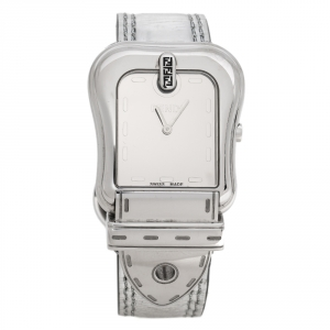 Fendi Silver Stainless Steel B. Fendi 3800G Women's Wristwatch 33 mm