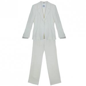 Gianfranco Ferre Studio Off-White Suit M