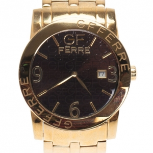 GF Ferre Brown Women's Wristwatch 41MM