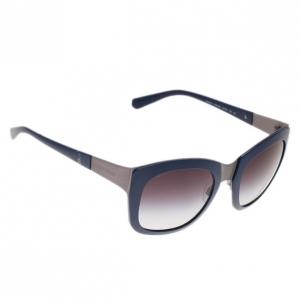 Giorgio Armani Blue Square Sunglasses