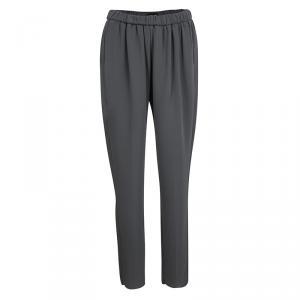 Giorgio Armani Grey Elasticized Waist Pants S