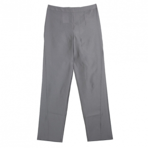 Giorgio Armani Grey Silk-blend Pants S