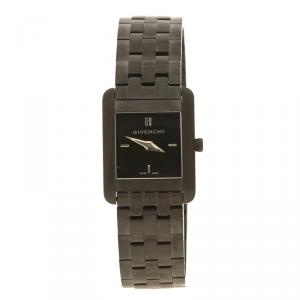 Givenchy Black Stainless  Steel  Asparas Women's Wristwatch 22 mm