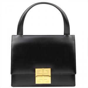 Givenchy Black Leather Top Handle Bag
