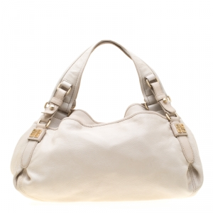 Givenchy Beige Leather Bucket Bag
