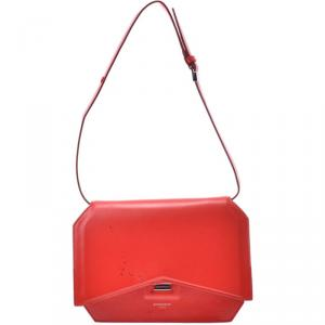 Givenchy Red Leather Crossbody Bag