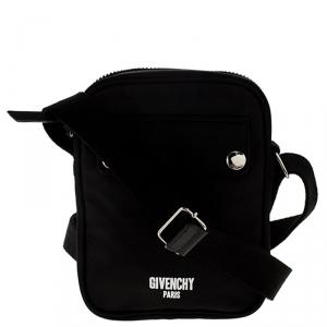 Givenchy Black Nylon Crossbody Bag