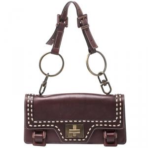 Givenchy Brown Leather Shoulder Bag